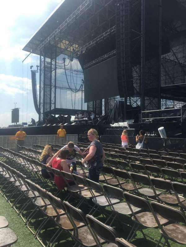 Hershey Park Stadium, section: A, row: 10, seat: 12