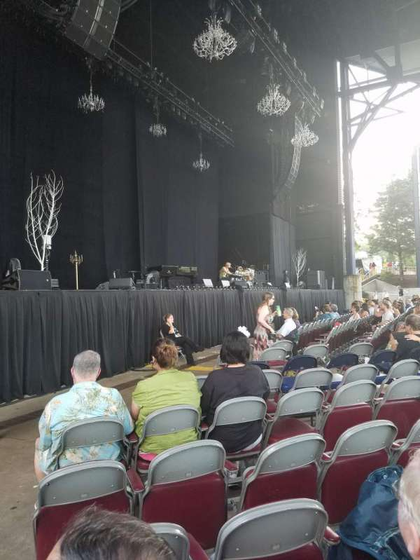 Jiffy Lube Live, section: Orchestra 3, row: K, seat: 21