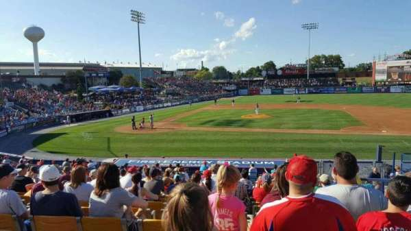 FirstEnergy Stadium (Reading), section: box 1, row: 23, seat: 4