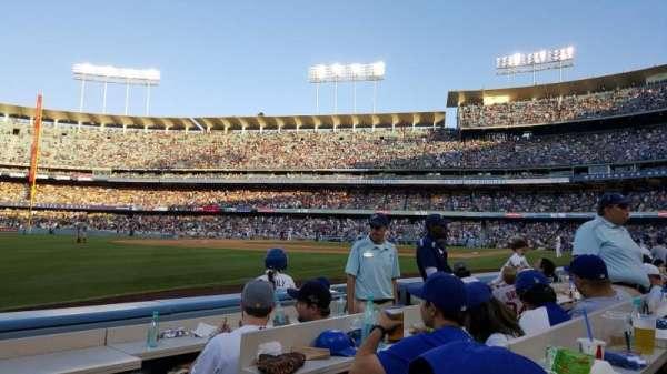 Dodger Stadium, section: 33BL, row: 3, seat: 4