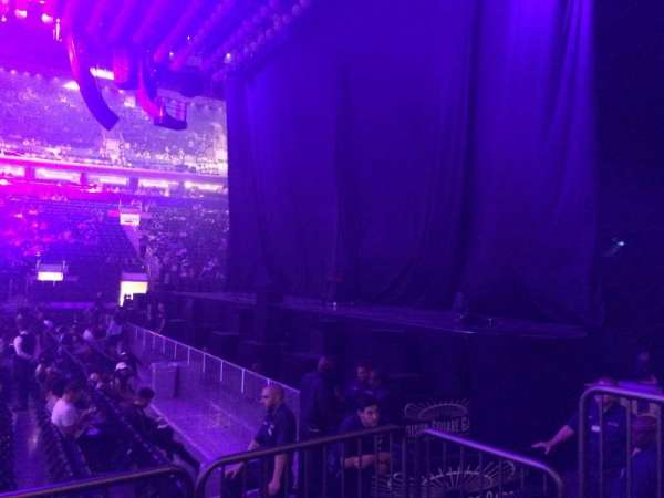 Madison Square Garden, section: 108, row: 3, seat: 5