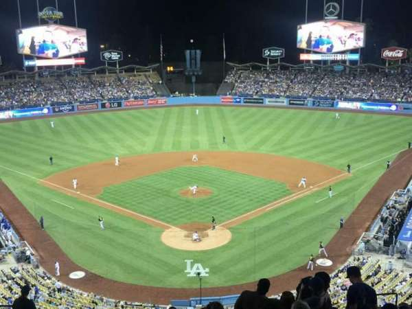 Dodger Stadium, section: 1RS, row: R, seat: 11