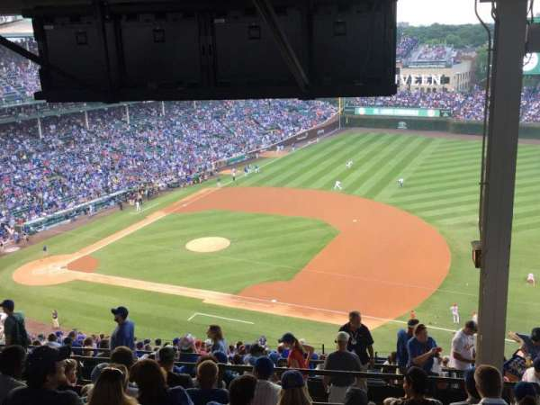 Wrigley Field, section: 426R, row: 9, seat: 18