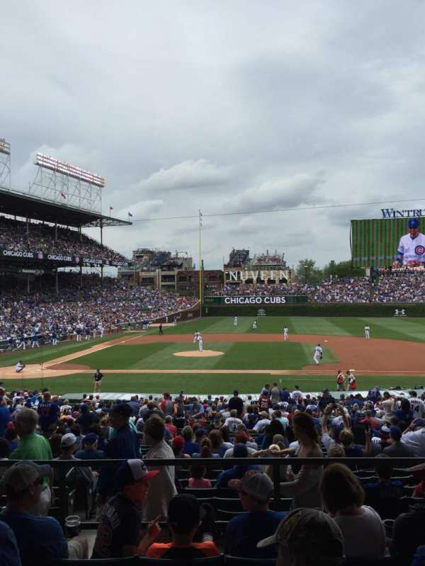 Wrigley Field, section: 223, row: 5, seat: 13