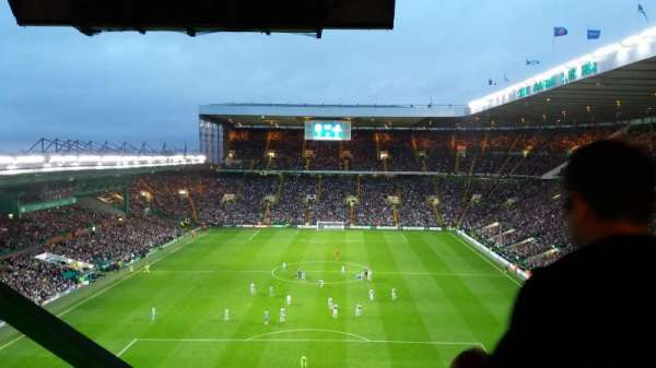Celtic Park, section: 416, row: M, seat: 18