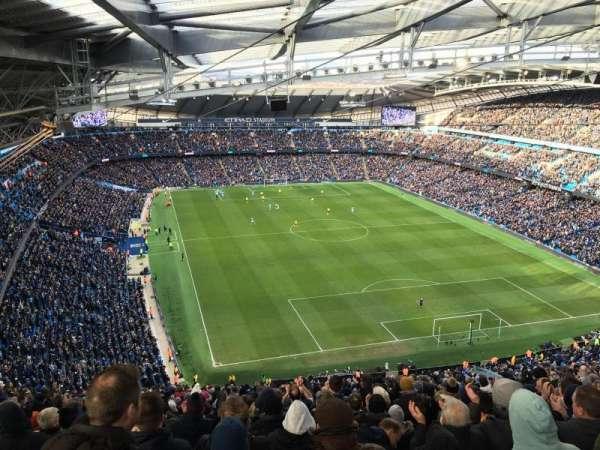 Etihad Stadium (Manchester), section: 217, row: M, seat: 457