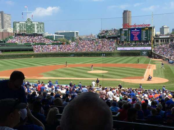Wrigley Field, section: 216, row: 6, seat: 7