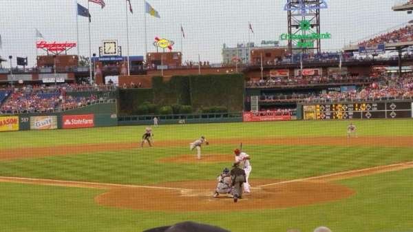 Citizens Bank Park, section: d, row: 16, seat: 10