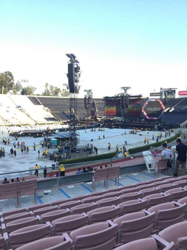 Rose Bowl, section: 16-L, row: 36, seat: 12