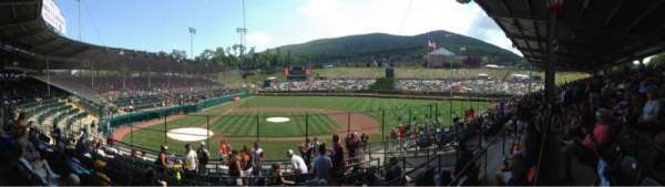 Howard J. Lamade Stadium, section: 2, row: 10, seat: 1