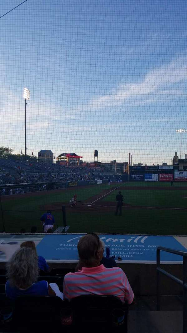 Principal Park, section: P, row: 8, seat: 1