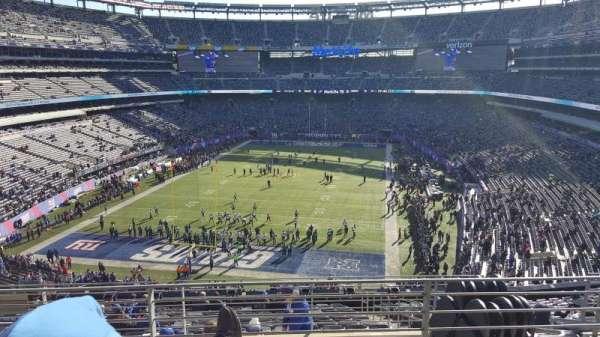 MetLife Stadium, section: 249B