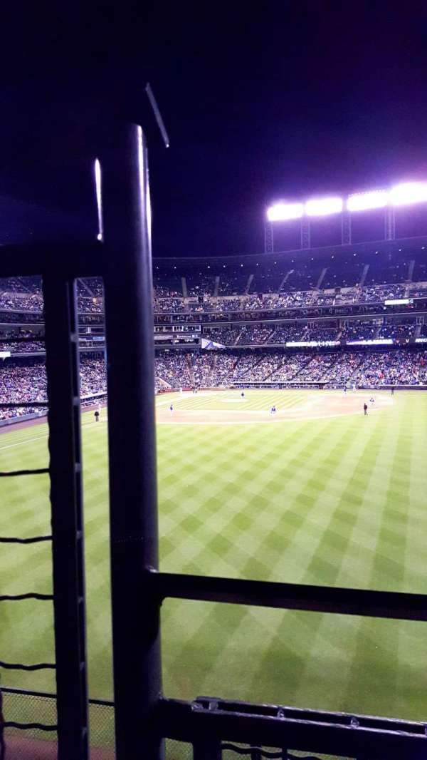 Coors Field, section: 402, row: W, seat: 10