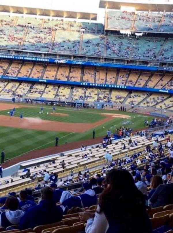 Dodger Stadium, section: 161LG, row: M, seat: 7