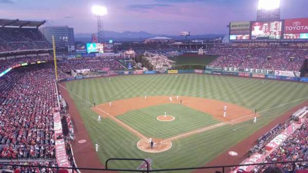 Angel Stadium, section: V420, row: G, seat: 1