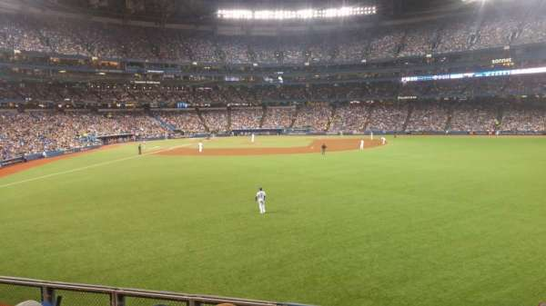 Rogers Centre, section: 106R, row: 4, seat: 8