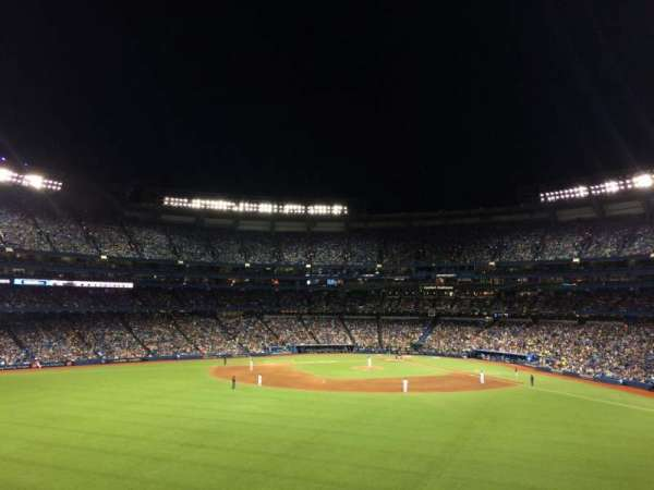 Rogers Centre, section: 244L, row: 2, seat: 110