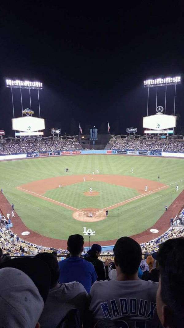Dodger Stadium, section: 1RS, row: K, seat: 8
