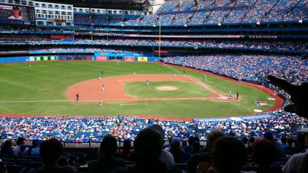 Rogers Centre, section: 230r, row: 12, seat: 5