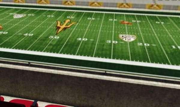 Sun Devil Stadium, section: 203, row: 1, seat: 15