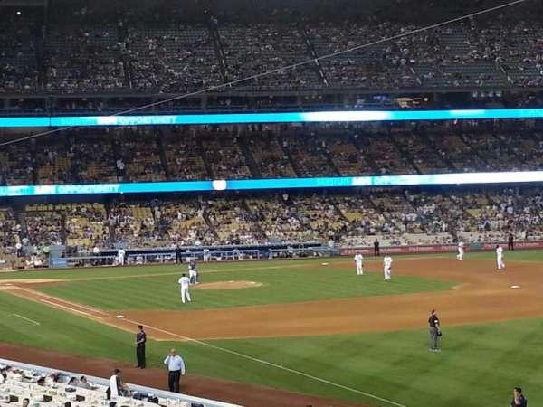 Dodger Stadium, section: 160LG, row: B, seat: 10