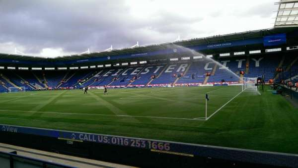 King Power Stadium, section: C2, row: D, seat: 299