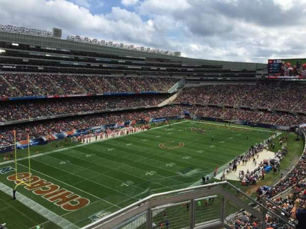 Soldier Field, section: 445, row: 3, seat: 18