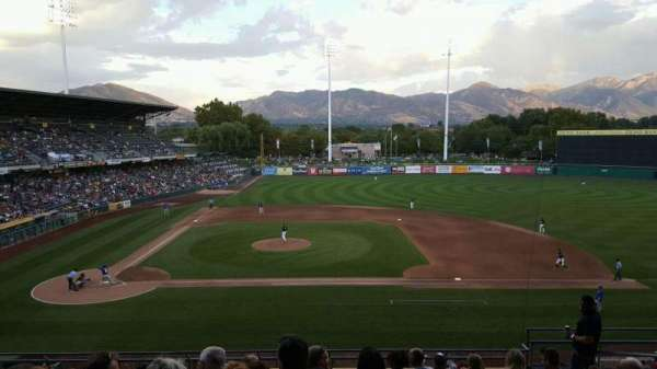 Smith's Ballpark, section: 106, row: 10, seat: 9