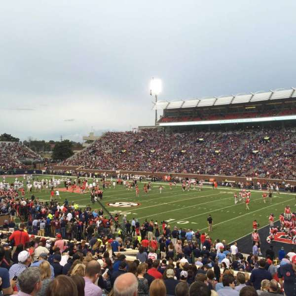 Vaught-Hemingway Stadium, section: A, row: 24, seat: 10