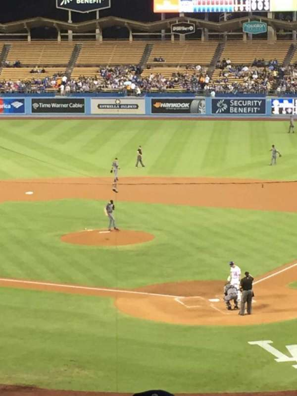 Dodger Stadium, section: 109LG, row: s, seat: 2
