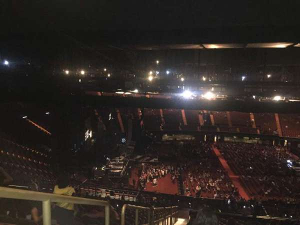 The Forum, section: 226, row: 23, seat: 1