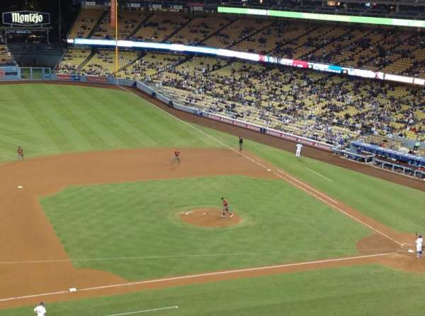 Dodger Stadium, section: 19RS, row: F, seat: 18