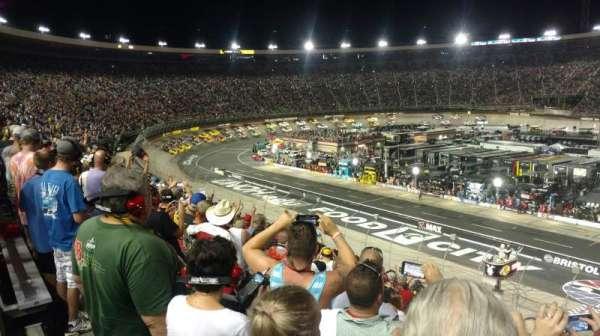 Bristol Motor Speedway, section: Allison G, row: 33, seat: 12