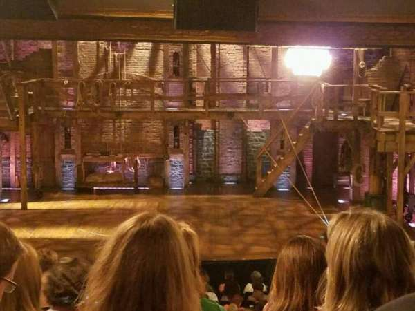 Richard Rodgers Theatre, section: Orchestra C, row: W, seat: 103