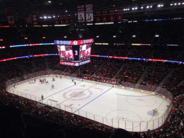 Canadian Tire Centre, section: 319, row: O, seat: 7