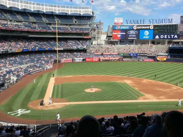 Yankee Stadium, section: 217, row: 19, seat: 20