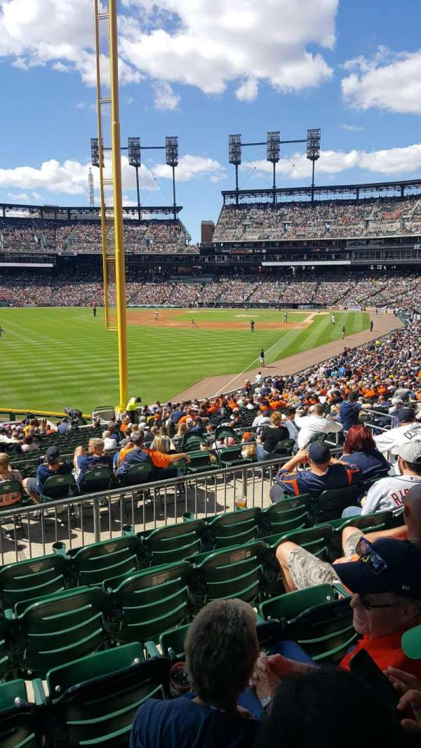 Comerica Park, section: 144, row: FF, seat: 14