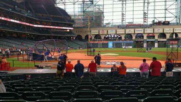 Minute Maid Park, section: 124, row: 15, seat: 6