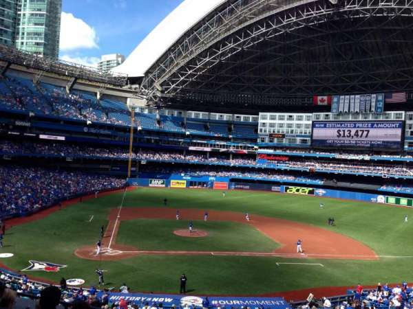 Rogers Centre, section: 221R, row: 6, seat: 2