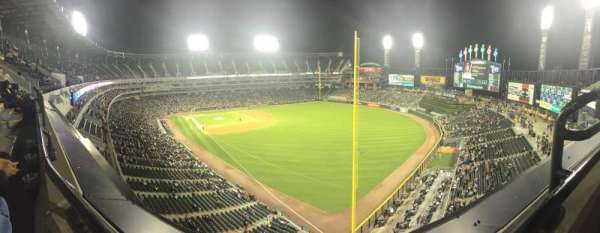 Guaranteed Rate Field, section: 509, row: 1, seat: 1