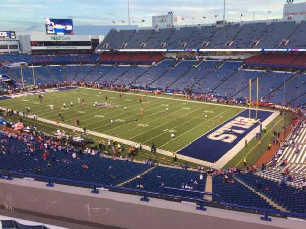 New Era Field, section: 306, row: 2, seat: 3