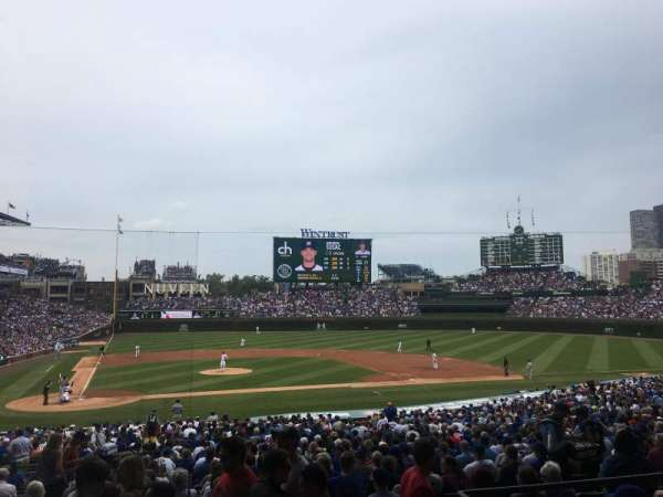 Wrigley Field, section: 222, row: 5, seat: 3