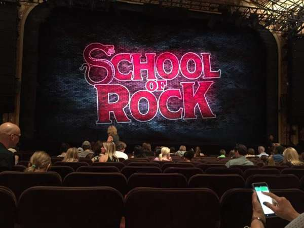 Winter Garden Theatre, section: Orchestra C, row: N, seat: 115