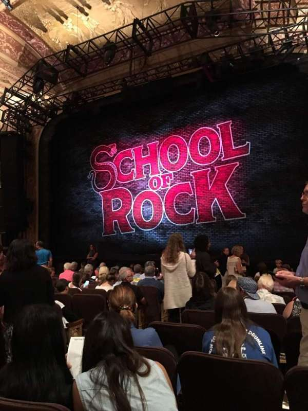 Winter Garden Theatre, section: Orchestra R, row: N, seat: 18