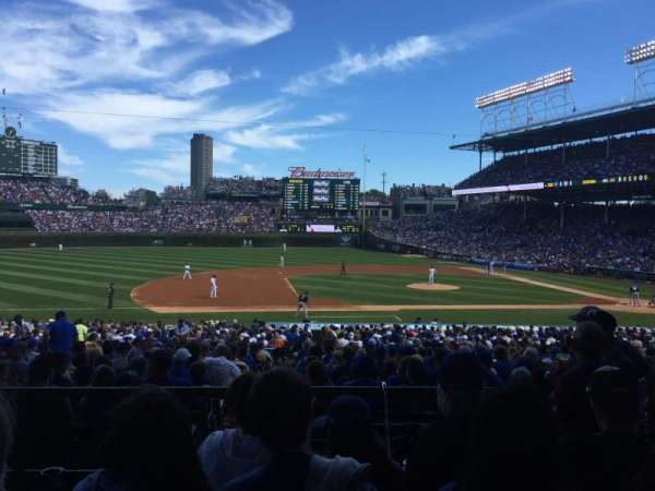 Wrigley Field, section: 108, row: 4, seat: 13