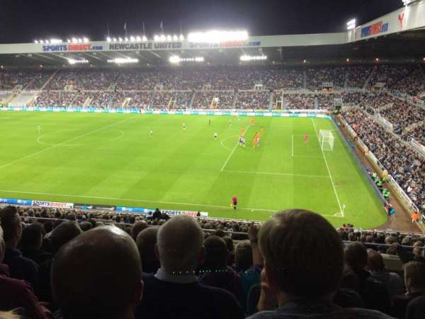 St James' Park, section: BAM B, row: NN, seat: 25