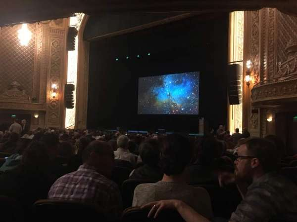 Paramount Theatre (Seattle), section: MF1, row: W, seat: 11