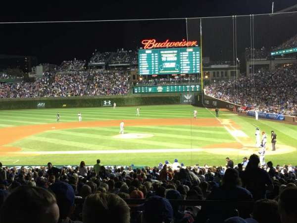 Wrigley Field, section: 216, row: 5, seat: 107