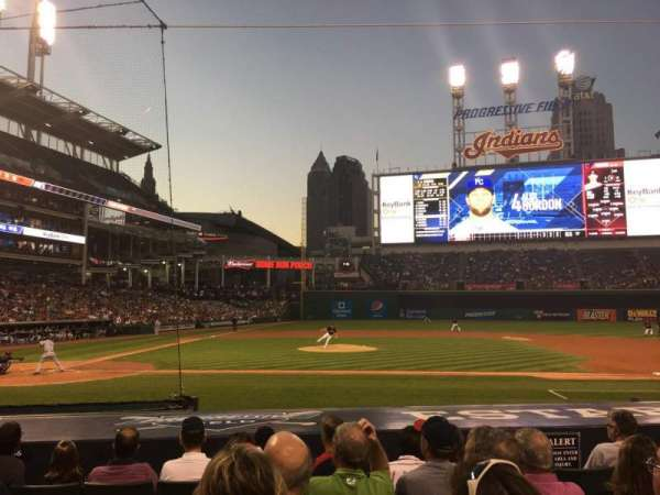 Progressive Field, section: 146, row: N, seat: 5
