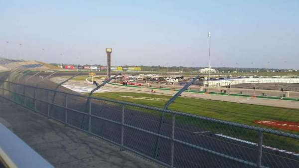 Kentucky Speedway, section: GS4H, row: 2, seat: 5